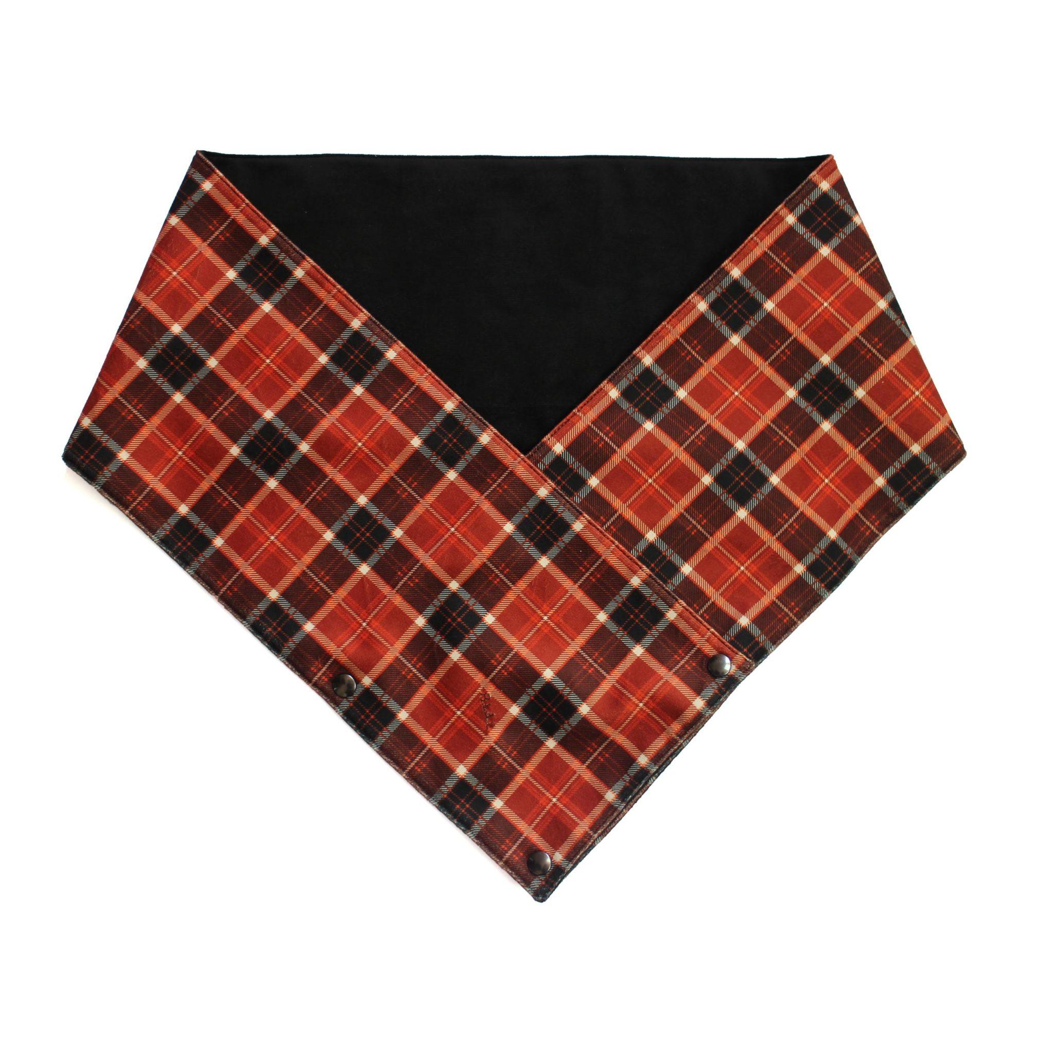 Écharpe Scottish Marron