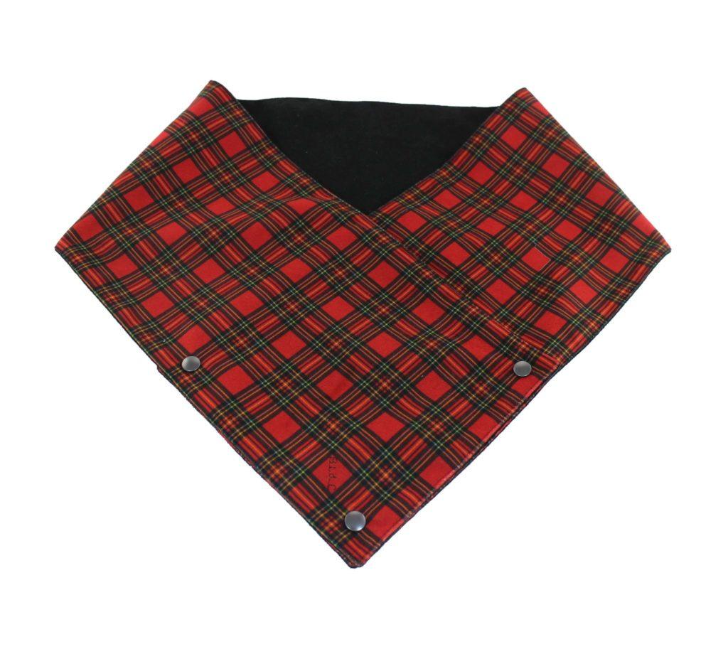 2a1b9534dbd4 Echarpe Scottish Rouge - Belle Lurette   Cie - Créateur Artisan Alsace