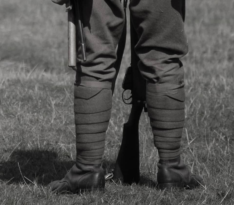 des guetres armees miliataire war soldier infantry gaiters chaps spats belle lurette et cie france