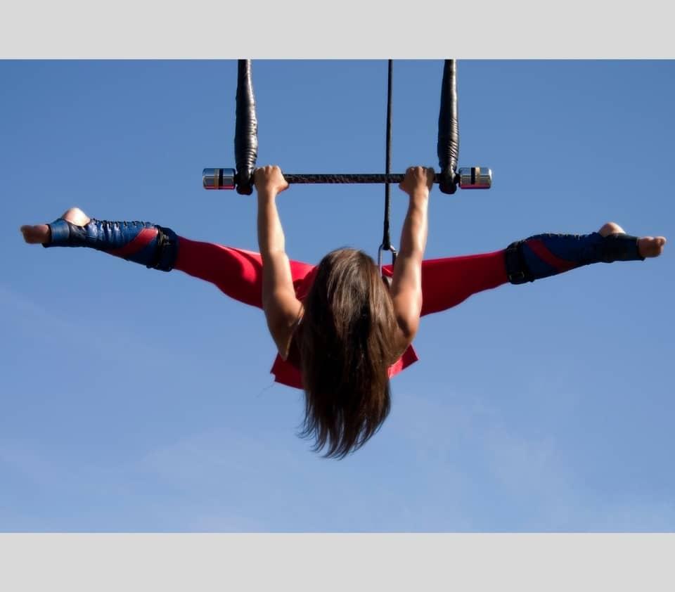 guetres cirque trapeze boots acrobate belle lurette et cie france