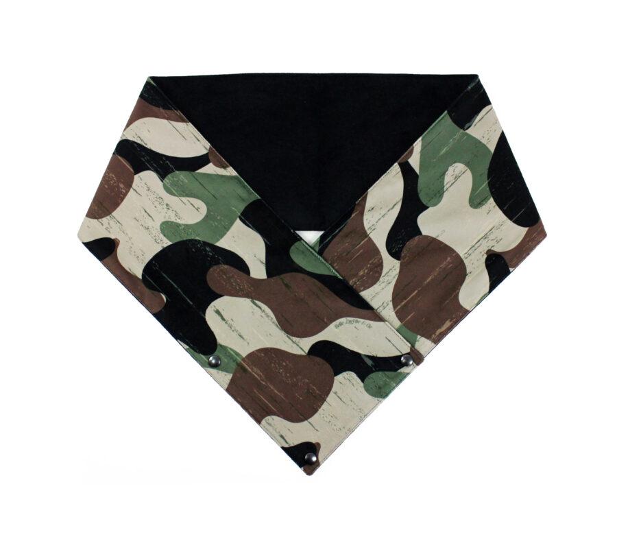 Écharpe Camouflage Vert