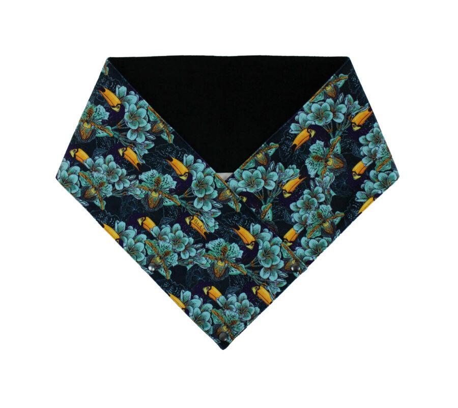 Écharpe Toucan Turquoise